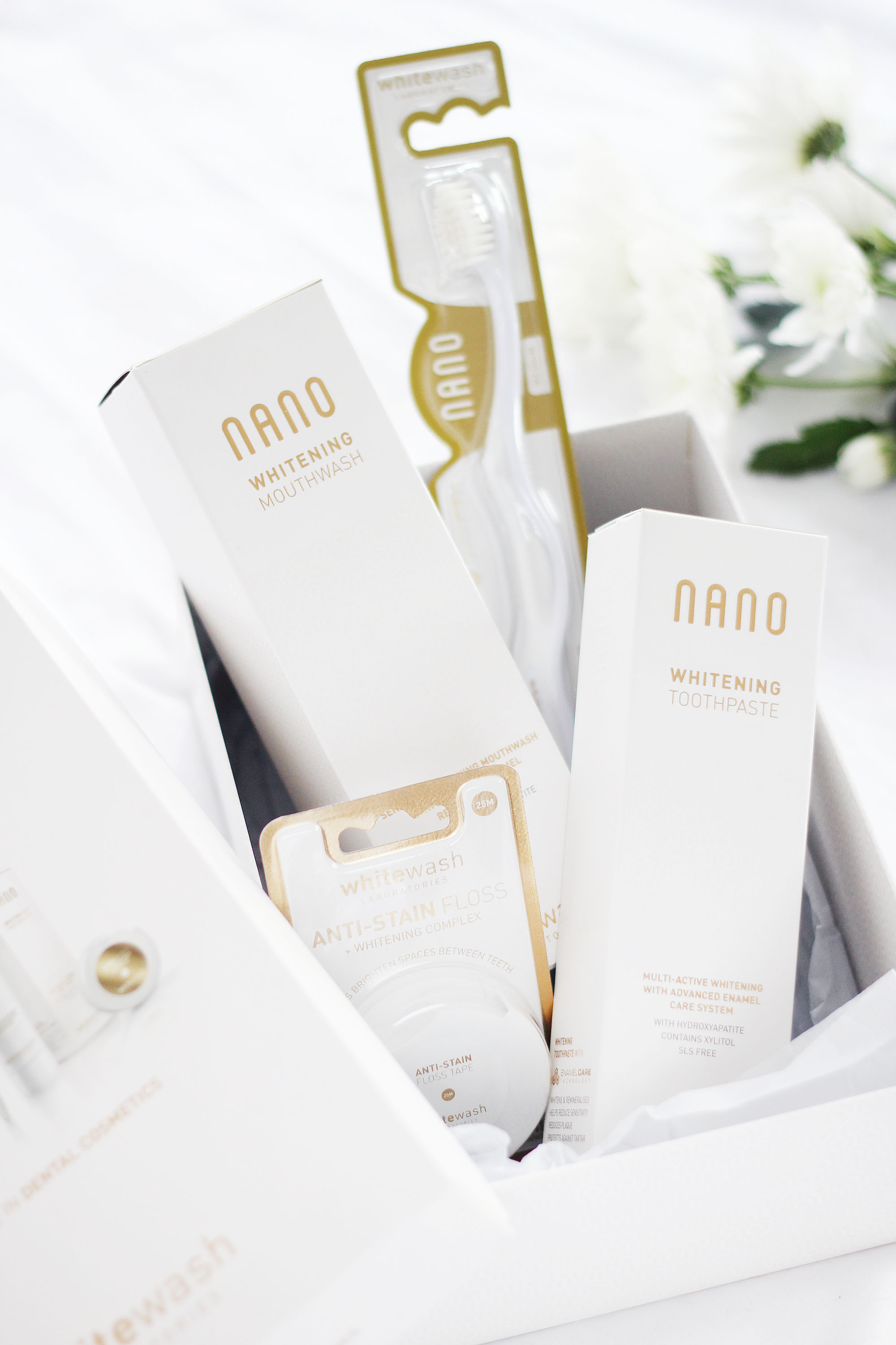 Teeth Whitening With WhiteWash Nano - Beauty and the Chic
